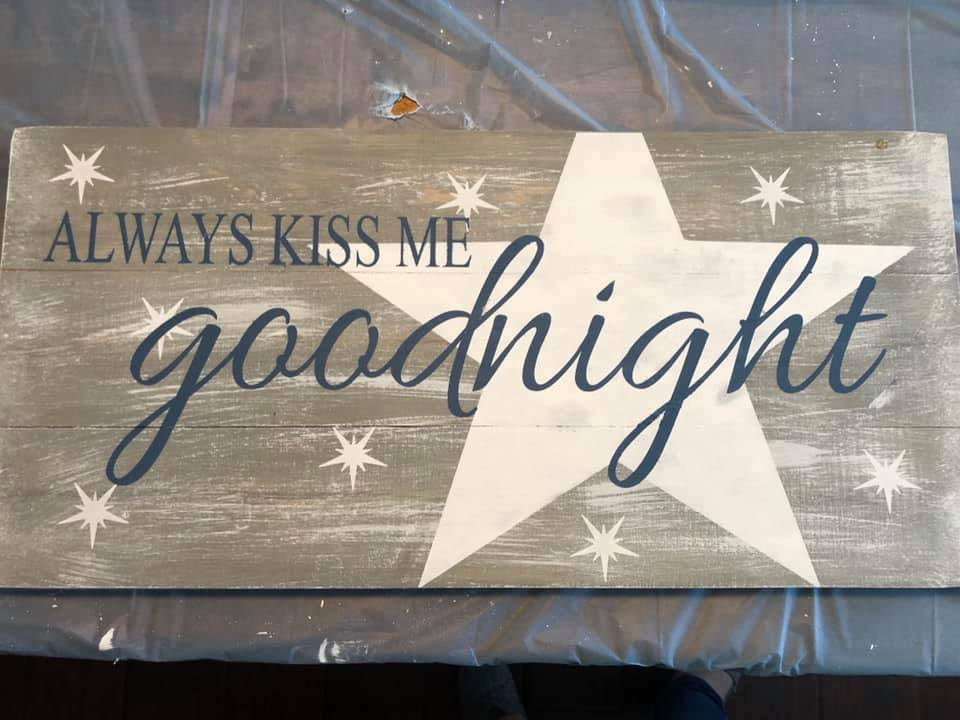 always kiss me goodnight with stars