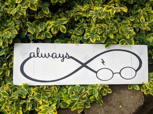 Harry Potter-infinity symbol always with glasses