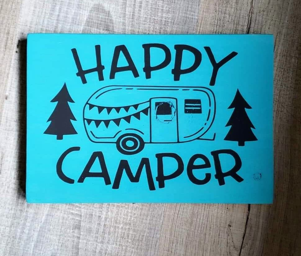 Tiles - Happy Camper