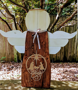 Angel - Believe Nativity Scene