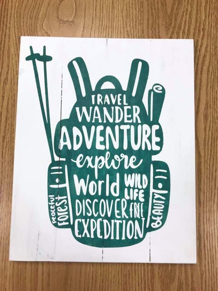 Travel Wander Adventure-backpack