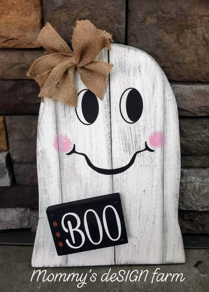 Ghost with BOO block