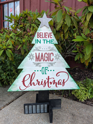 Christmas Tree - Believe in the Magic
