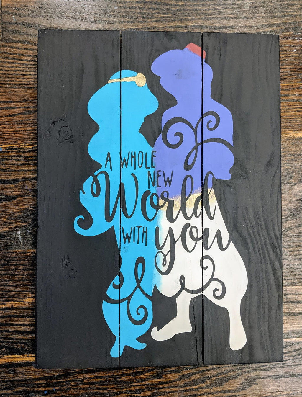 A whole new world with you - Aladdin