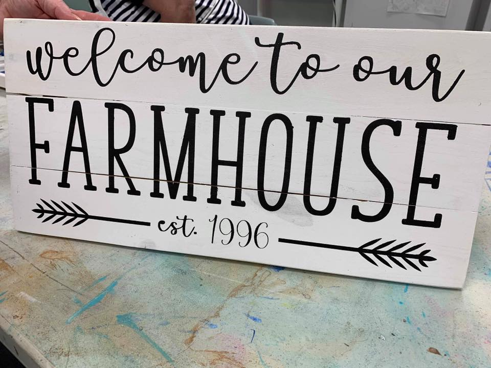 Welcome to our farmhouse with est date