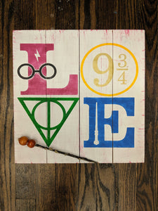Harry Potter-Love with symbols