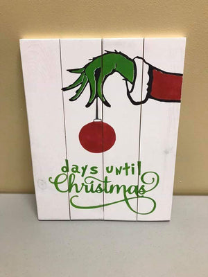 Grinch-Days until Christmas