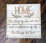 3D Home the story of who we are