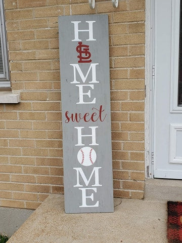 Home sweet home with STL Cardinals and baseball
