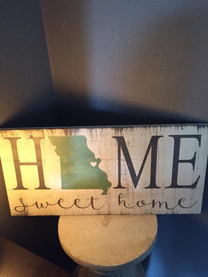 Home sweet home with heart