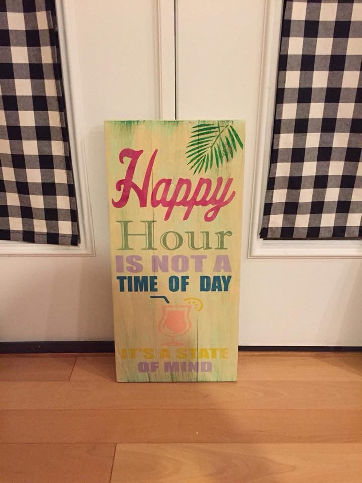 Happy hour is not a time of day