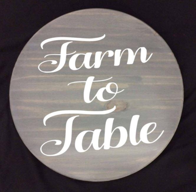 Lazy Susan - Farm to table
