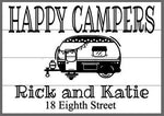 Happy Campers with names and address