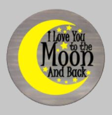 I love you to the moon and back-round