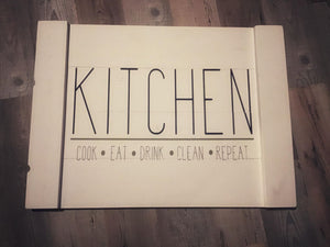 Stove Top - Kitchen cook.eat.clean.repeat