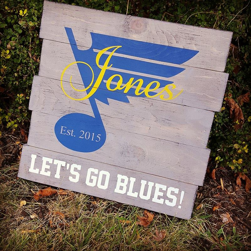 Lets Go  STL Blues staggered with Last name and est date