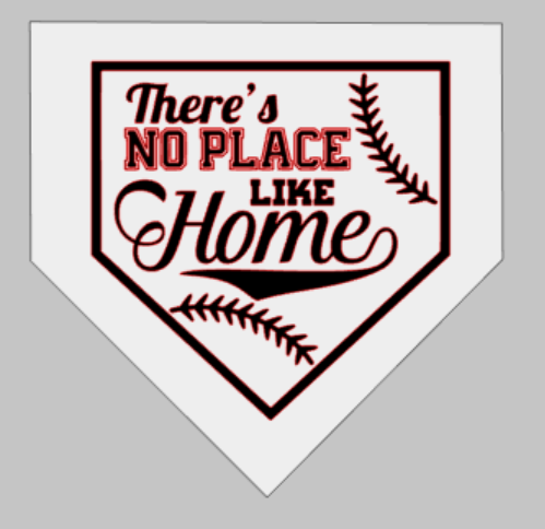 There's no place like home-home plate