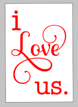 Valentines Day Tiles - I love us