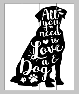 All you need is love and a dog-lab