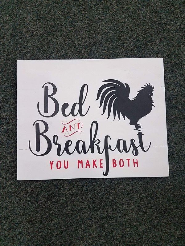 Bed and Breakfast you make both