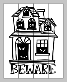 Beware with haunted house