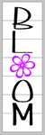 Bloom with flower in O