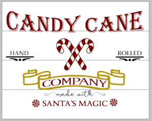Candy Cane Company Santa's magic
