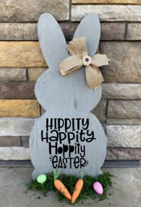 Spring Connection Easter Bunny - Hippity Happity Hoppity Easter