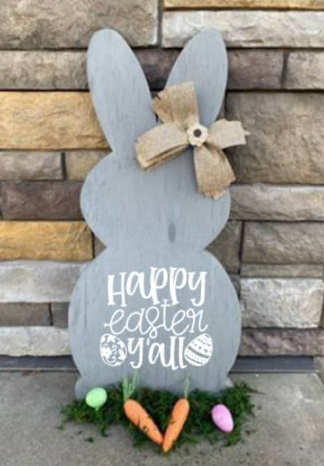 Spring Connection Easter Bunny - Happy Easter Y'all