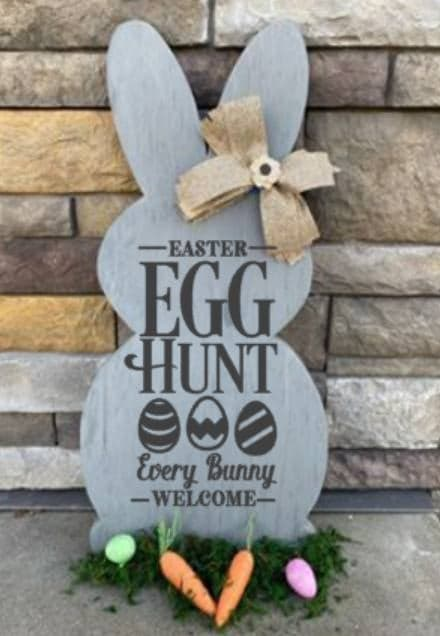 Spring Connection Easter Bunny - Easter egg hunt every bunny welcome
