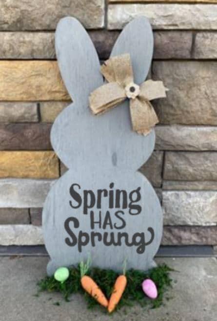 Spring Connection Easter Bunny - Spring has Sprung