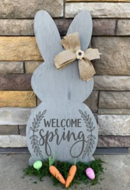 Spring Connection Easter Bunny - Welcome Spring with Vine