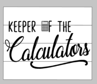 Keeper of the Calculators