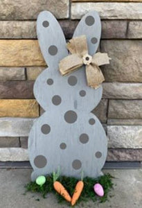 Spring Connection Easter Bunny - Dots