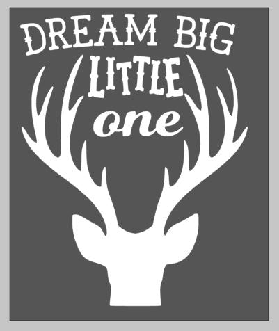 Dream big little one with deer