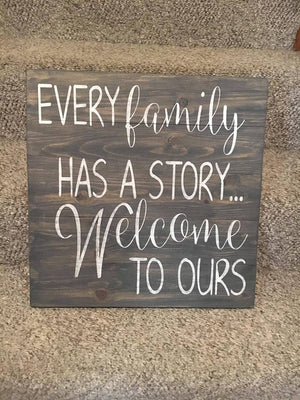 Every family has a story welcome to ours