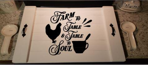 Stove top - Farm to table and table to soul