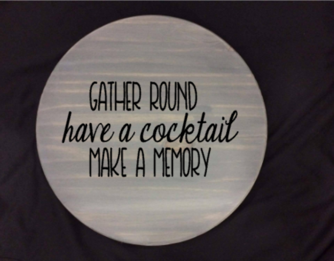 Lazy Susan - Gather round have a cocktail make a memory