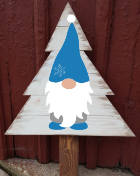 Christmas Tree - Gnome