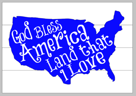 God bless america the land that I love