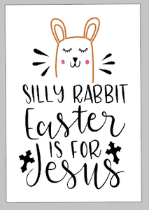 Spring Tiles - Silly Rabbit Easter is for Jesus