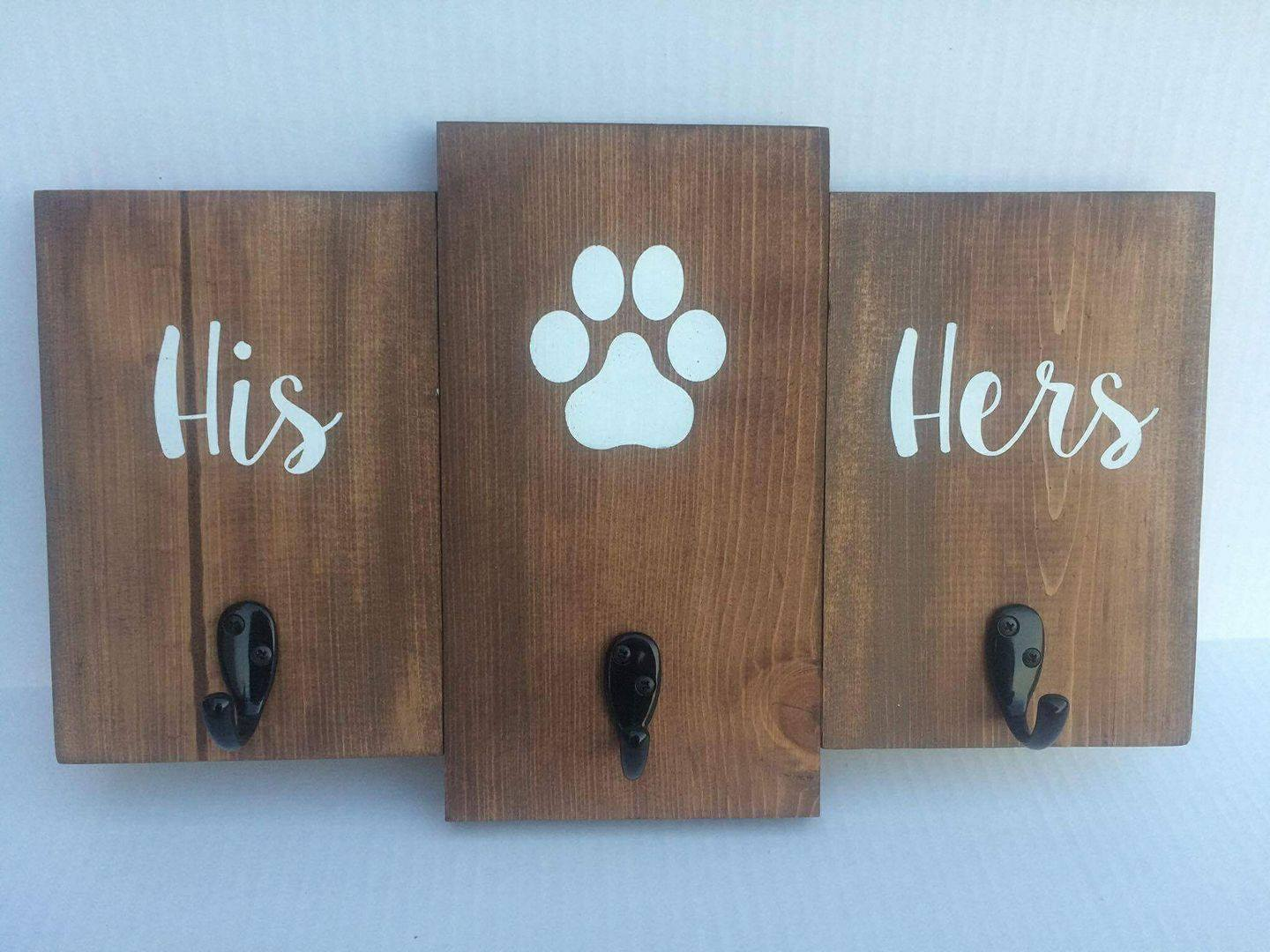 His / hers coat rack