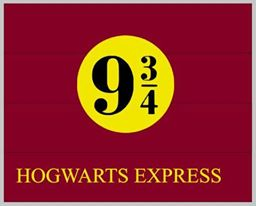 Harry Potter-Hogwarts express 9 3/4