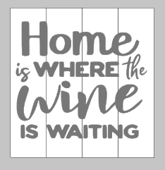 Home is where the wine is wating