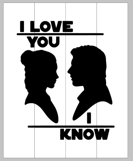 I love you i know-star wars