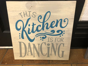 This kitchen is for dancing with dots
