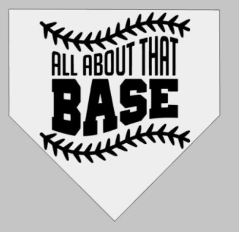 all about that base-home plate