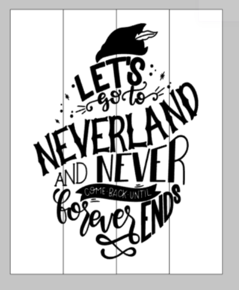 Lets go to neverland