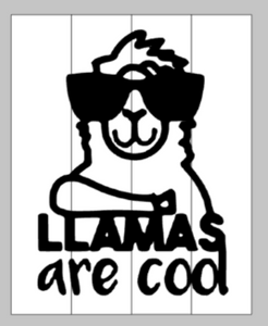 Llamas are cool