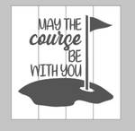 May the Course be with you - Golf